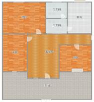 华声苑  多层一楼有大院子   楼层楼位好   无遮挡