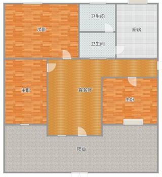 华声苑  多层一楼有大院子   楼层楼位好   无遮挡 _18