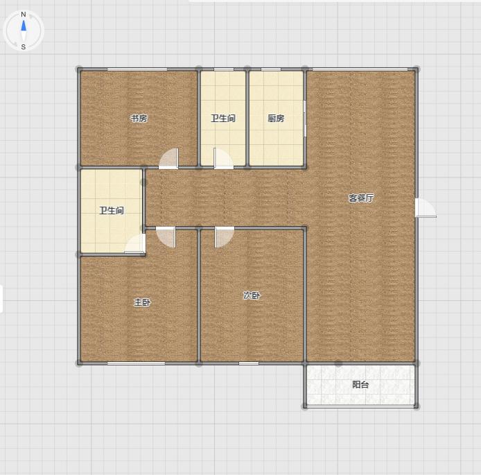 晟地绿园   3室2厅    精装修   急售