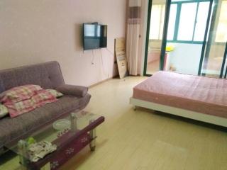 香榭華都東區1室1廳精裝出租 小區環境優美_2