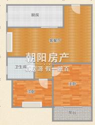 鑫诚花园2室2厅