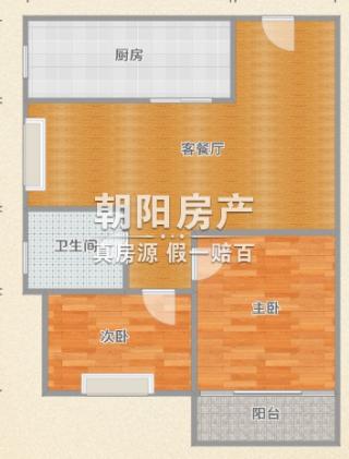 鑫诚花园2室2厅_10