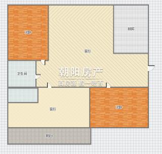 奥林花园 三室两厅 精装 _10
