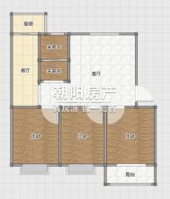 东苑东区位于淮河大道北段东精装3室2厅