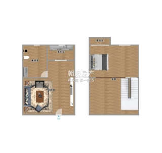 金色大地复试精装公寓出售_9
