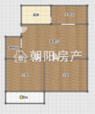 申欣苑96平方2室2厅精装修急售