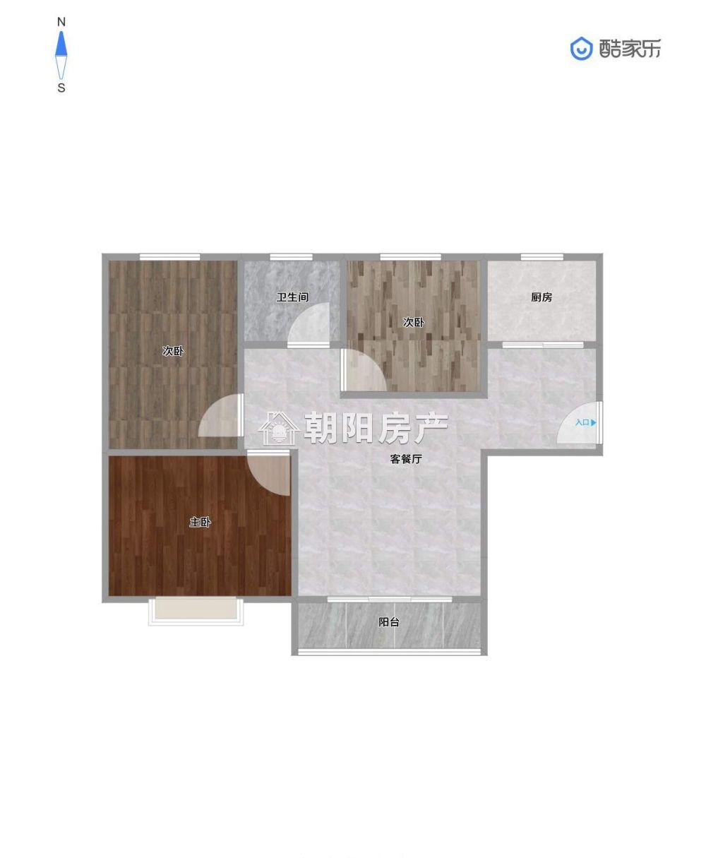泉山湖3室精装