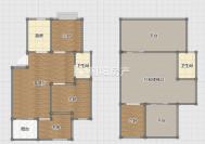 金地月伴湾三区位于朝阳东路南侧4室2厅毛坯6跃7出售