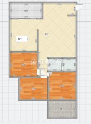 金地月伴湾四区三室二厅3层精装好房110平低价急售