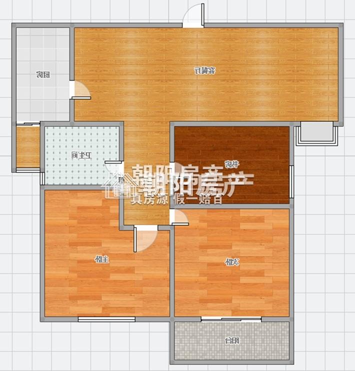 万达广场  3房2厅 繁华地段  房东诚心出售