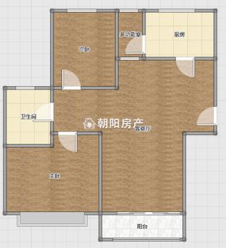 广弘城精装两室两厅出售_10