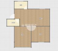 前锋花园2室2厅 2楼