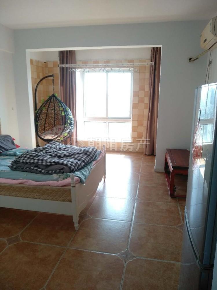 龙湖中心1室1厅精装公寓出租  朝西