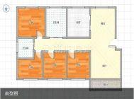 香榭华都东区有证 4室2厅 毛坯 好房出售