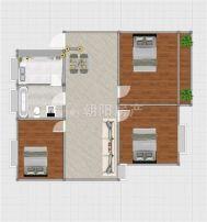 谢二东村北区98平方金装3室5层采光好地势好出售