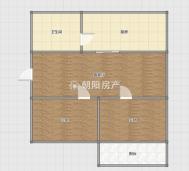 园新大院2室2厅普装淮师附小本部南北通透实际面积大急售