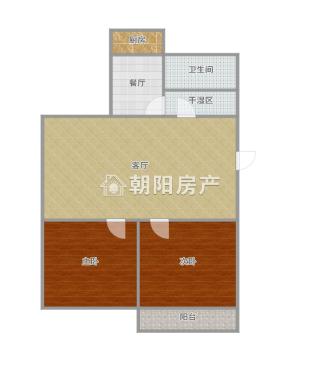 东苑西区 2室2厅 好房出售_13