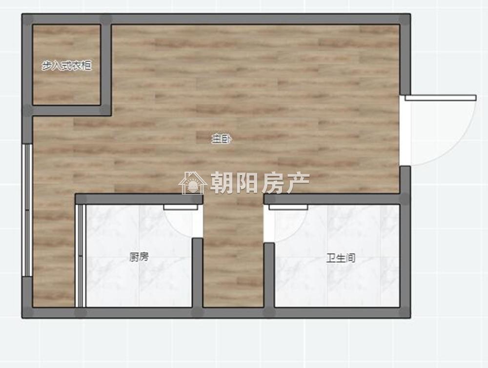 万达公寓精装一室一厅吉房出售