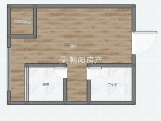 万达公寓精装一室一厅吉房出售_10