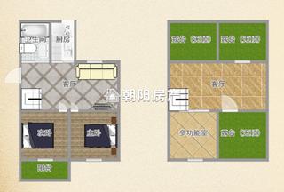 金茂阳光花园超大面积精装三室出售_20