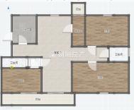 水云庭毛坯房4室2厅出售 靠近老龙眼水库