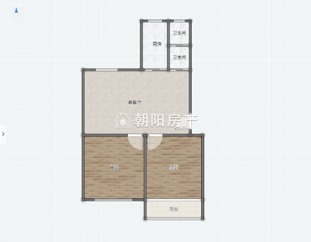 绿苑山庄2室1厅普装多层小户型出售可公积金贷款