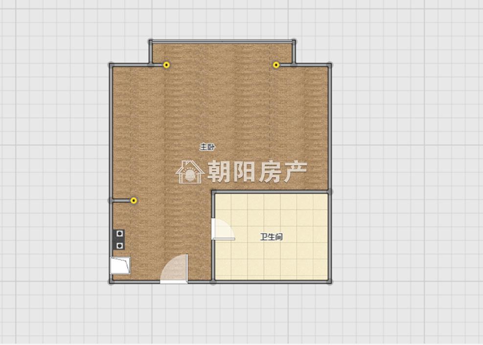 中環158 1室1廳精裝修中層房東誠心出售