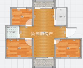 上品印象精裝修多層5樓三房兩廳誠心出售_12