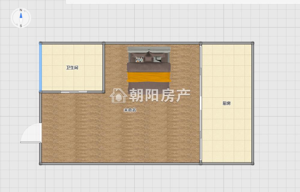 萬達廣場 精裝修公寓 一室一廳 急賣