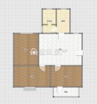 洞二小本部 淮橡新村 3室1厅 简单装修楼层好 诚心出售