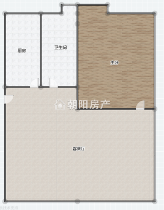 中化国际城B1栋毛坯房2室1厅26中学区房出售_7