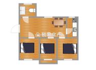 龙泉山庄3室1厅简装修交通便利18小直升实验学区未用