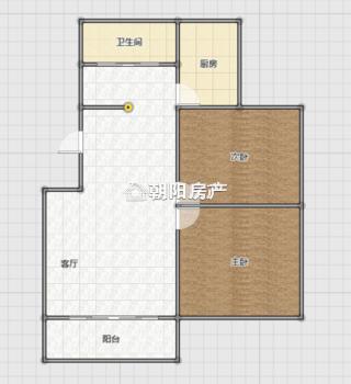 洞二小本部 广场小区多层一楼 简装两室两厅  采光好 交通便利_16