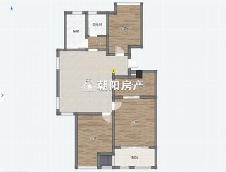 山南印象3室2厅精装出售_9