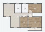 金地月半湾精装修三室二厅家具家电齐全