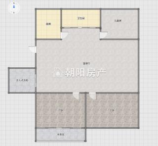 广场小区 3室2厅 普通装修_10
