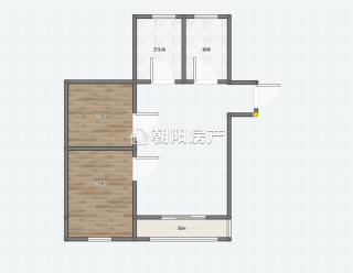 碧荷庭2室2厅毛坯房 洞山中学东校区_10