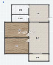 龙眼村十八小学区房二室二厅普通装修