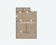 通达小区 多层一楼 简装两室一厅 带院子 采光好