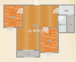 碧荷庭毛坯2室好房出售,洞山中學正對面,位置優越_9