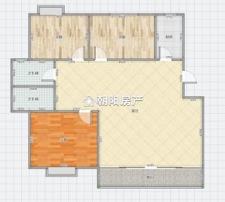 阳光国际城东区 3室2厅 精装 吉房出售_9