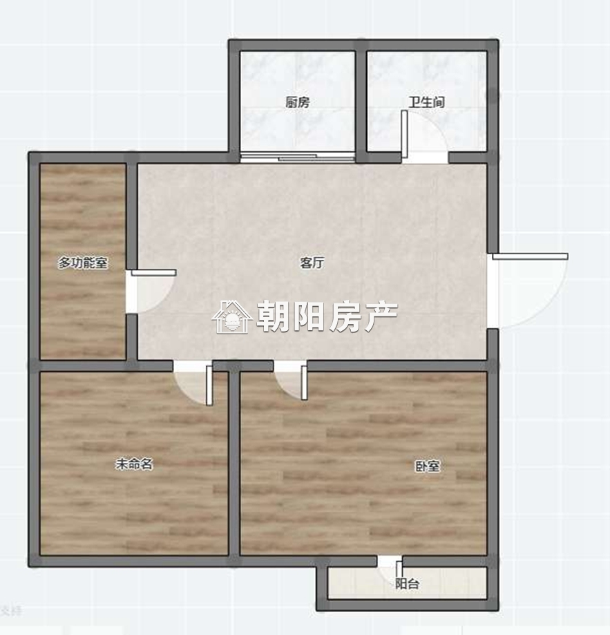 洞泉小区2室1厅普装出租 采光好