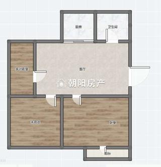洞泉小区2室1厅普装出租 采光好 _9