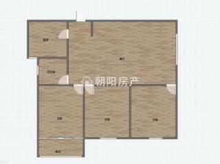 金地环球港三室两厅毛坯房急售_11