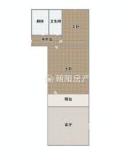 东淮村两室一厅普装一楼带阳光房带自建房
