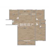 上郑广场3室2厅精装出售 保持很好