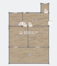 东淮村2室1厅简装二十六中学区稀缺一楼出售