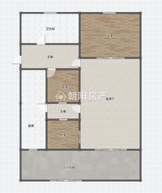 前锋电力村3室2厅精装出售 1楼带院子 开的有门_20