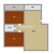 银鹭万树城组团一多层四楼精装两房出售  全屋墙暖 洞二小西校区学区房