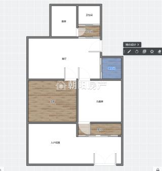 前锋花园2室1厅普装1楼带大院子低价出售_16